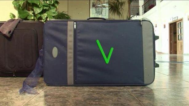 hvordan pakker man en kuffert